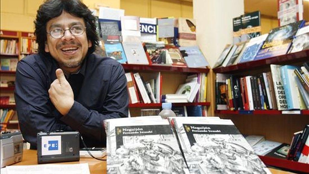 El escritor peruano Fernando Iwasaki. EFE/Archivo