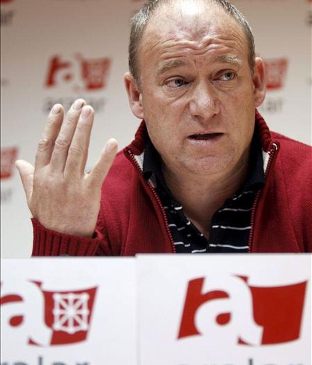 El coordinador de Aralar, Txentxo Jiménez. EFE/Archivo