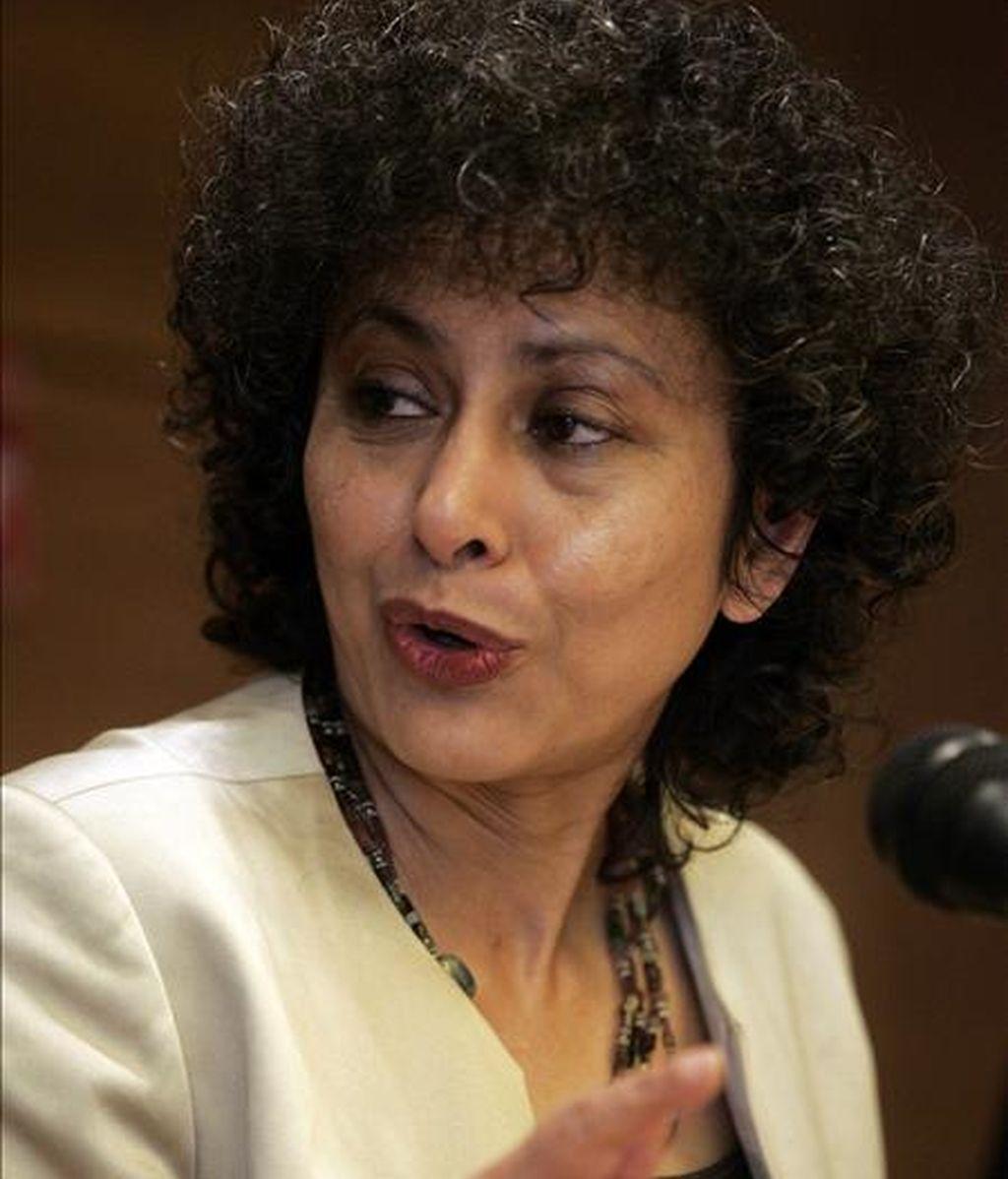 La secretaria general de Amnistía Internacional, Irene Khan. EFE/Archivo