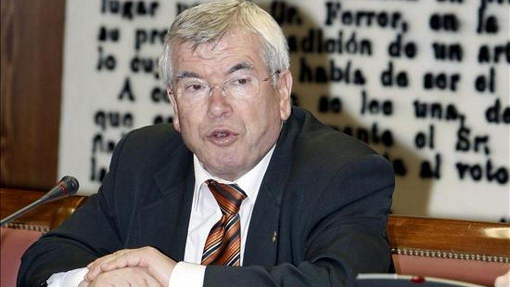 El presidente de la Federación Española de Municipios y Provincias, Pedro Castro. EFE/Archivo