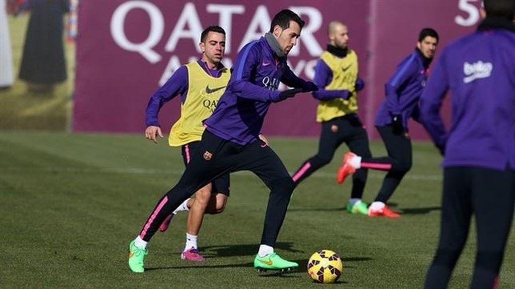 El Barça reactiva el 'chip' copero sin Montoya