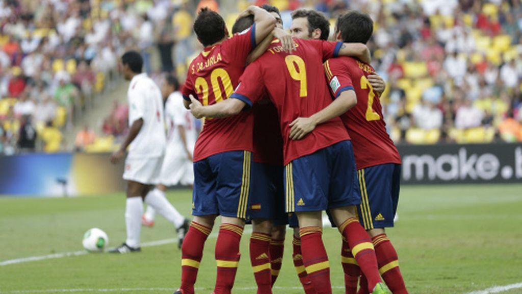 España 10 - Tahití 0