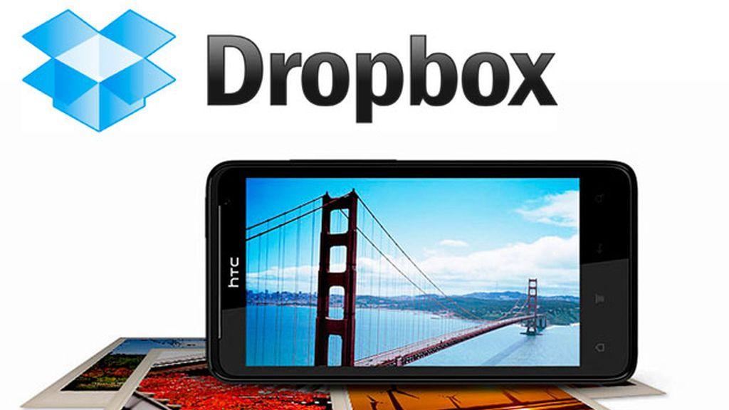 HTC ofrece a sus usuarios 5GB gratis en su servicio de almacenamiento online, Dropbox.