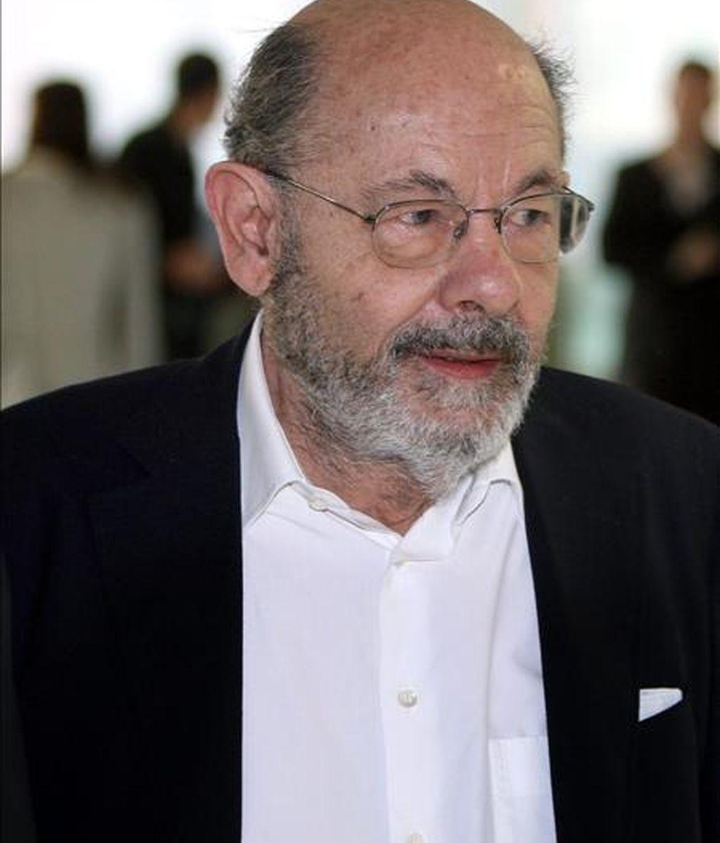 En la imagen, el ex presidente de la Fundación Orfeo Catalá- Palau de la Música, Fèlix Millet, momentos antes de su comparecencía ante el juez. EFE/Archivo