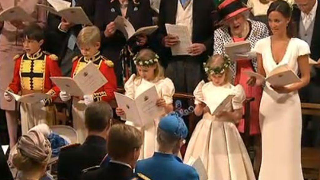 Pippa Middleton, dama de honor de su hermana