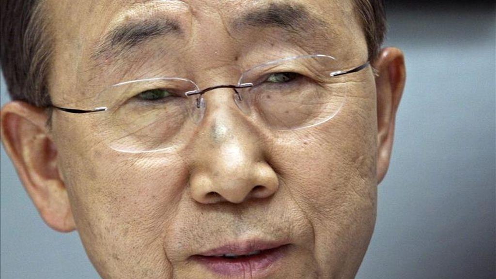 """El portavoz del secretario general de la ONU indicó: """"El objetivo de la reunión es el de intercambiar visiones e impulsar la coordinación entre las organizaciones participantes a la hora de hacer frente a la actual crisis en Libia"""". EFE/Archivo"""