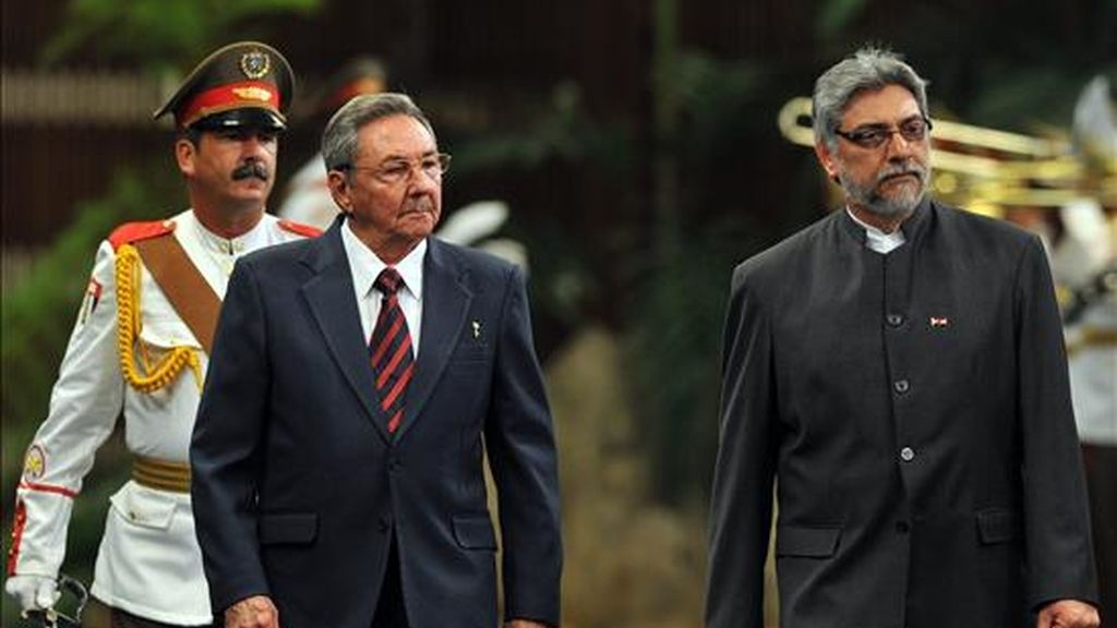 Lugo es el décimo gobernante latinoamericano que visita Cuba en lo que va de 2009. EFE