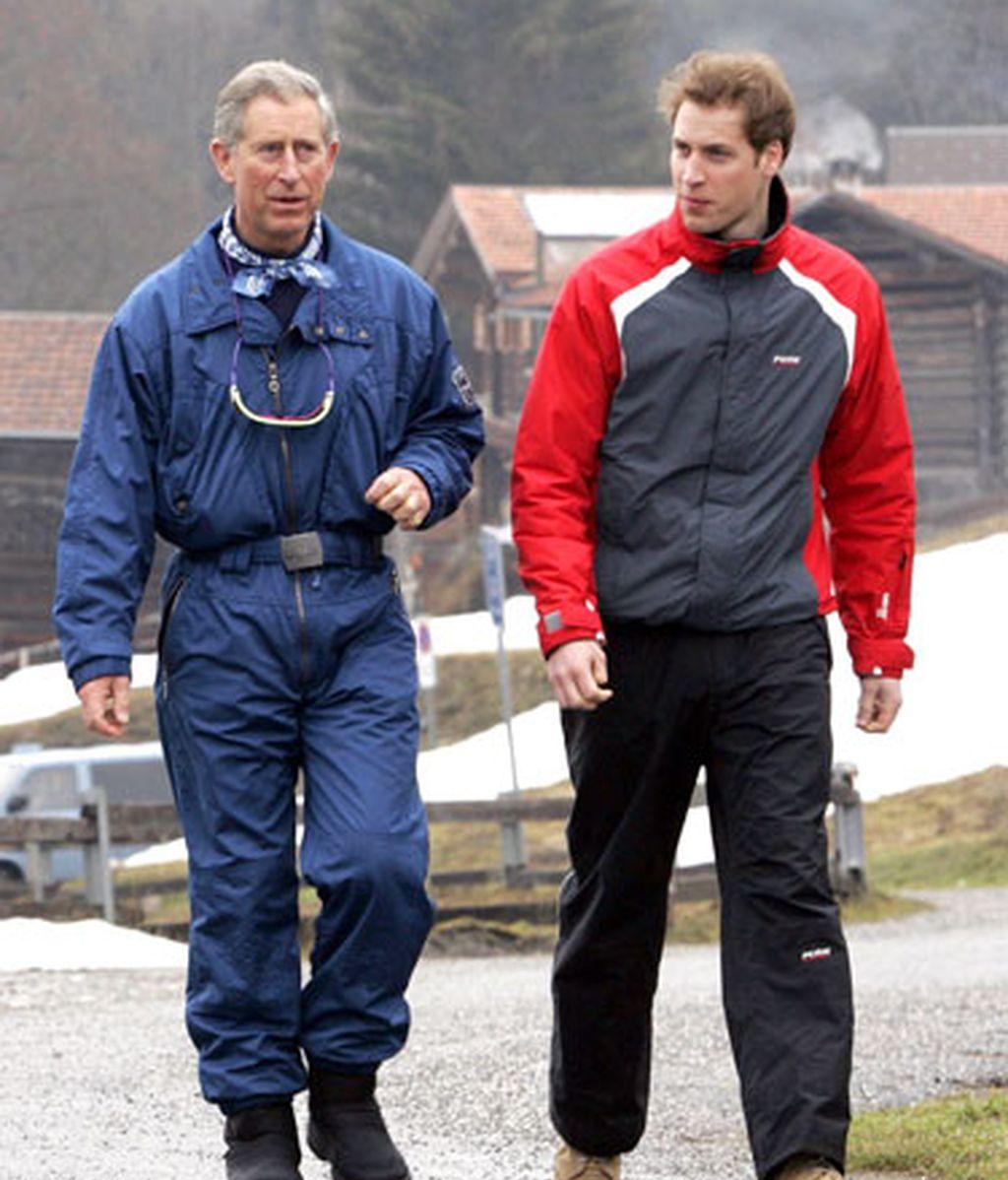 El príncipe Guillermo y Kate Middleton también tienen pasado