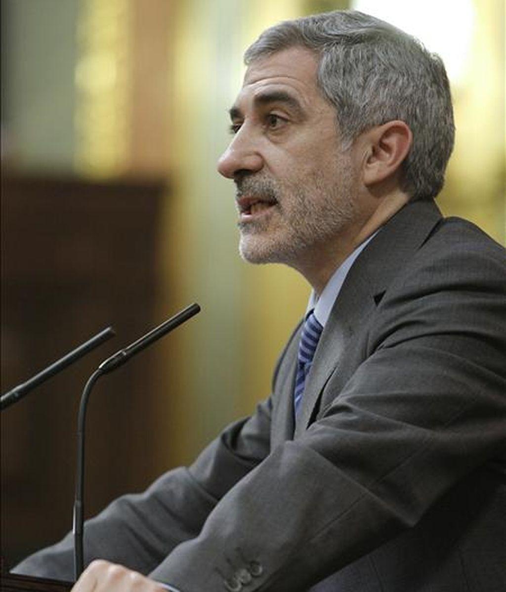 El ex dirigente de IU Gaspar Llamazares. EFE/Archivo