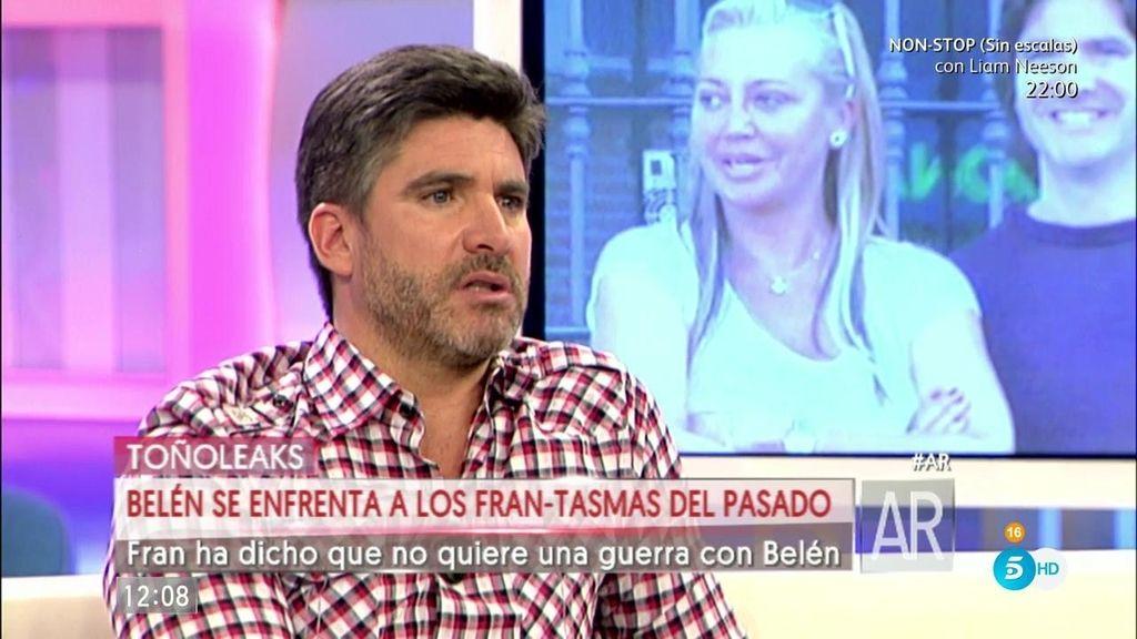 """Toño Sanchís: """"He hablado estos días con Fran. Somos amigos"""""""
