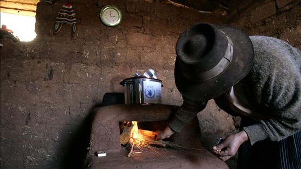 El índice de pobreza extrema regional ha descendido del 22,5% registrado en 1990, que es el punto de partida para medir el progreso de los Objetivos de Desarrollo del Milenio (ODM), al 13,7% en 2009, según la Comisión Económica para América Latina y el Caribe (Cepal). EFE/Archivo