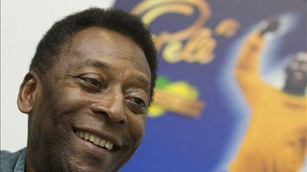 El ex futbolista brasileño Edson Arantes do Nascimento 'Pelé'. EFE/Archivo