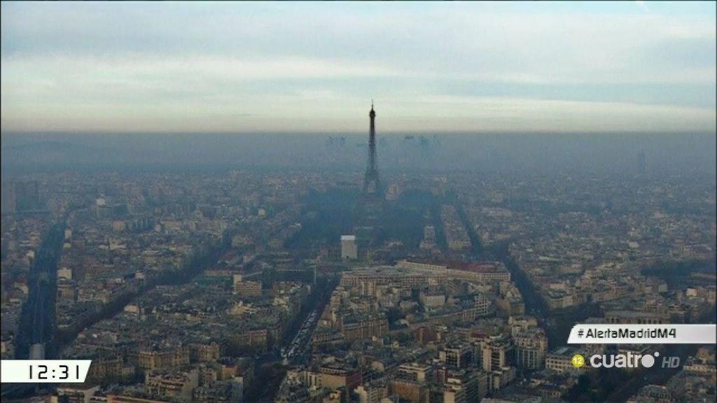 Las ciudades que siguen las medidas contra la contaminación de Manuela Carmena