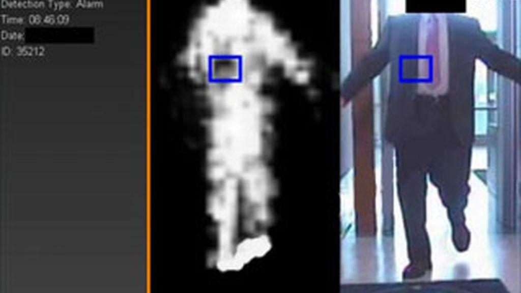 Imagen de un escaner corporal