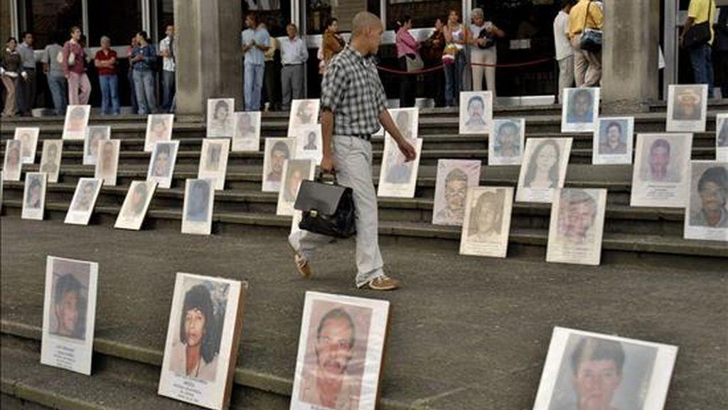El caso, considerado como un crimen de lesa humanidad, ocurrió hace 50 años y sigue vigente en la memoria de familiares de las víctimas y algunos sobrevivientes. EFE/Archivo