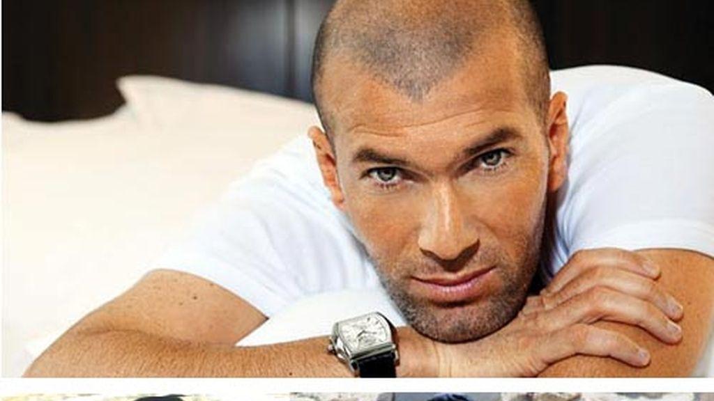 Zidane, padre con 4 hijos