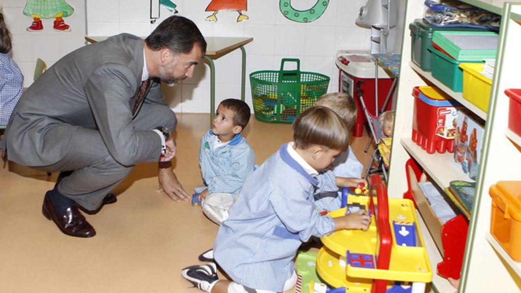 Los Príncipes inauguran el curso escolar