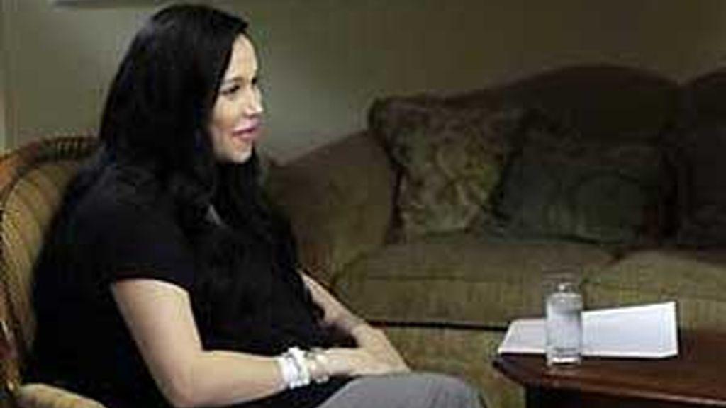 Nayda Suleman durante su entrevista en la NBC. Foto: Foxnews