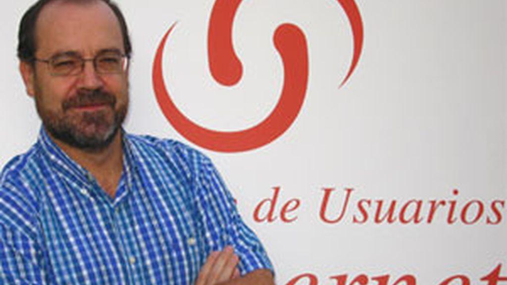 El presiente de la Asociación de Usuarios de Internet, Miguel Pérez Subías. Foto: www.internetmeetingpoint.net