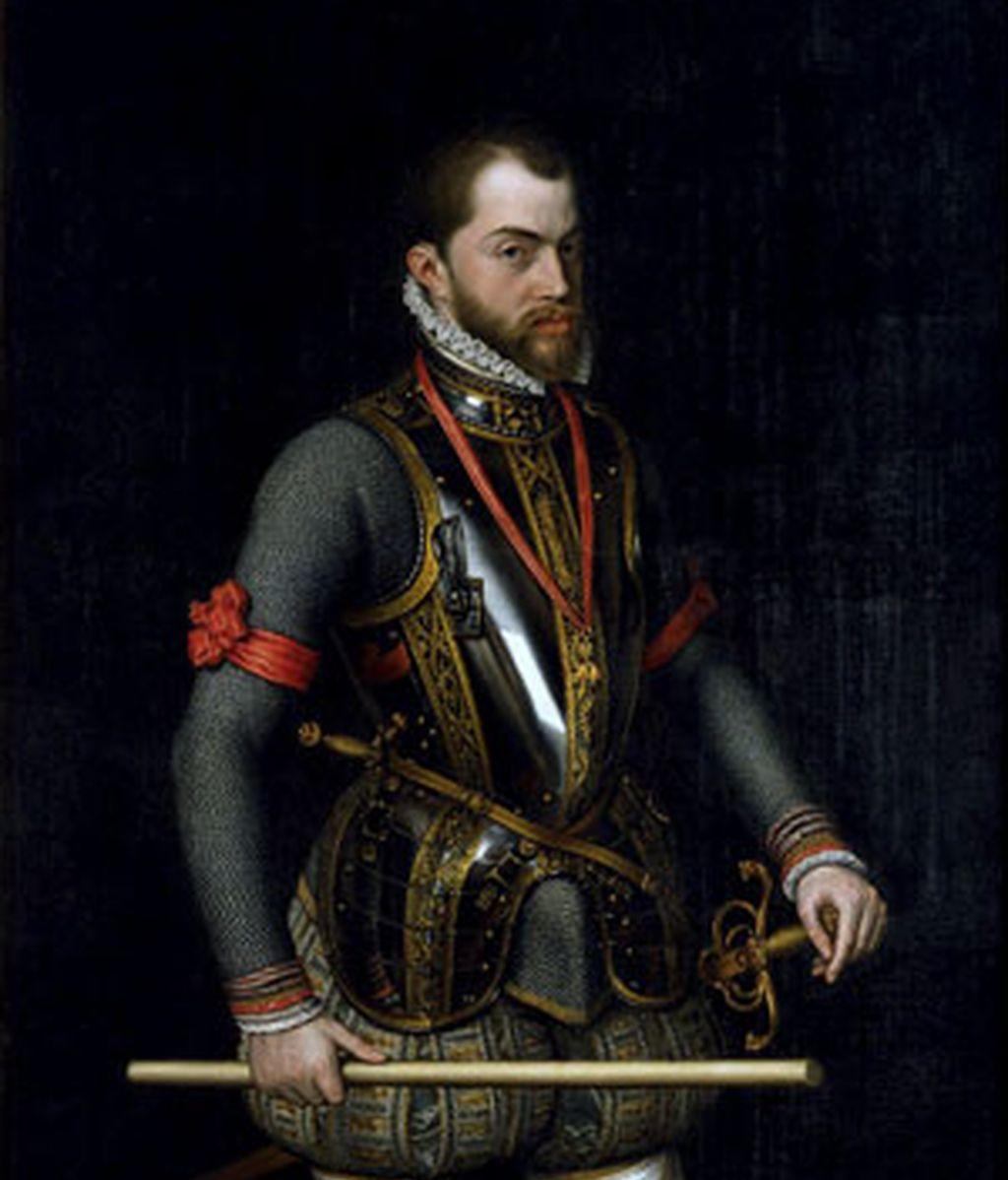 Felipe II reinó en el siglo XVI. Foto: Archivo.