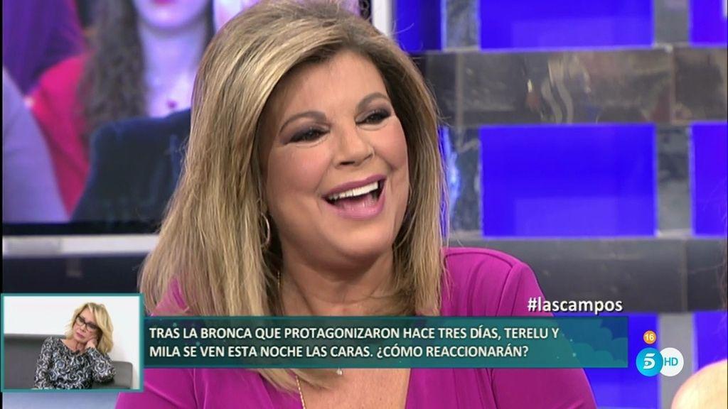 """Terelu, sobre las polémicas fotografías: """"Han unido más a Edmundo y a mi madre"""""""