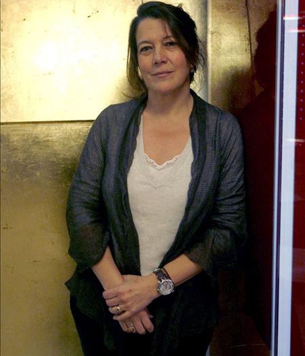 La directora de la feria internacional de Arte ARCO, Lourdes Fernández, comenta en una entrevista con Efe el pasado 1 de febrero, que la crisis económica, que también estará presente en la próxima edición de la feria, no debe ocultar el gran esfuerzo que están haciendo las 250 galerías participantes. EFE/Archivo