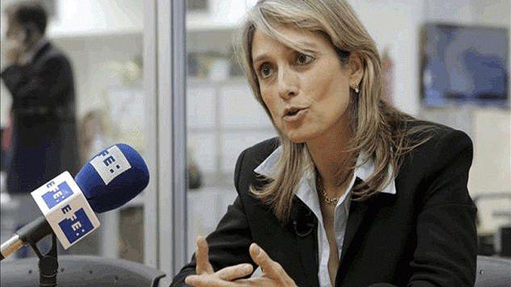 Montserrat Nebrera, exdiputada del PP, defiende la independencia de Cataluña