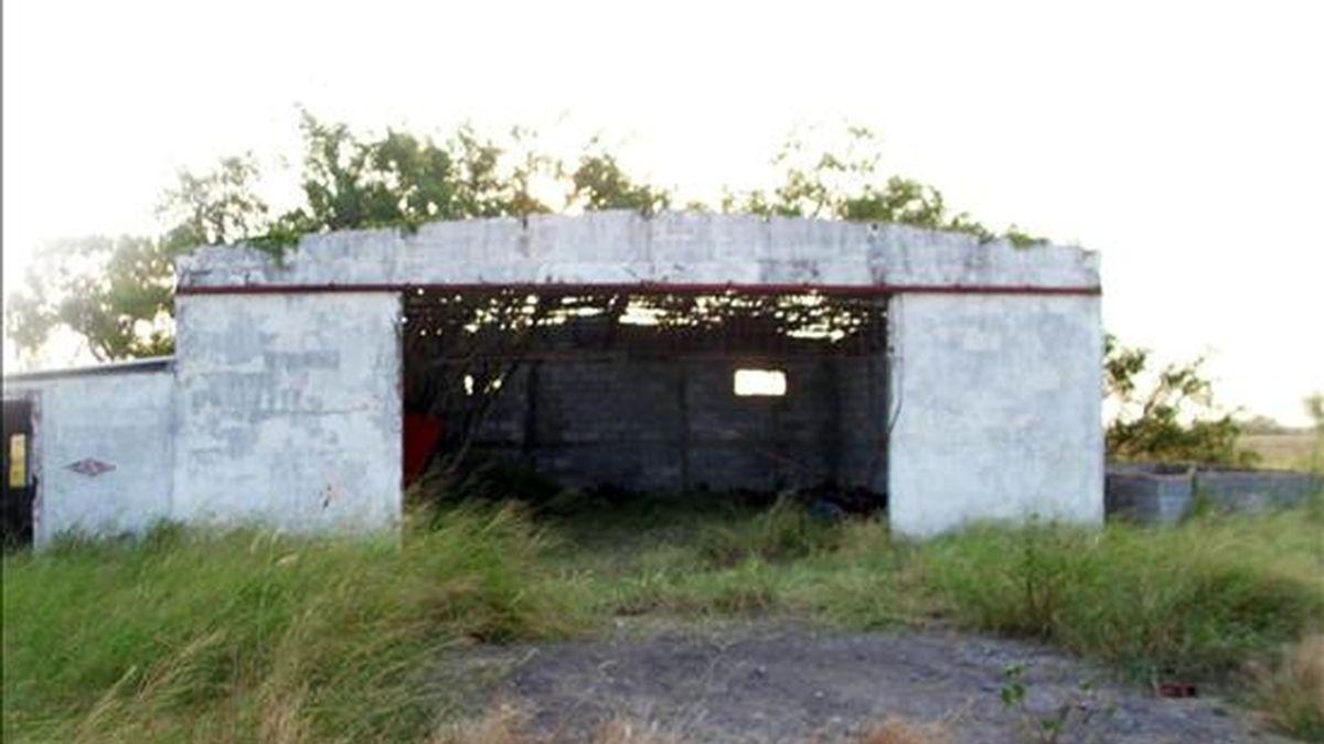 En la imagen, la finca ubicada en San Fernando (México) donde 72 inmigrantes fueron asesinados. EFE/Archivo