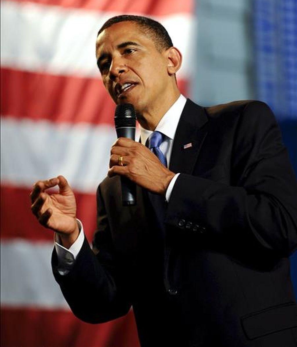 """""""Vamos a poner en marcha un conjunto de medidas regulatorias que, según creo, servirán para prevenir que este tipo de crisis ocurra de nuevo"""", dijo el martes Obama. EFE/Archivo"""