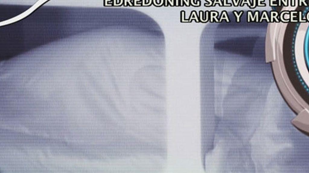 ¡Laura y Marcelo hacen edredoning!