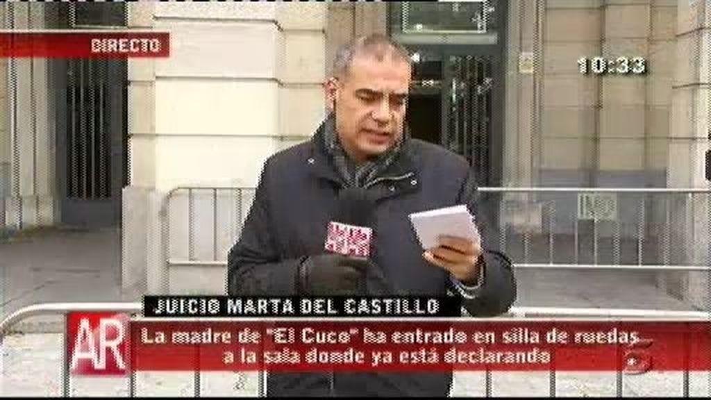 La madre de 'El Cuco' declara en el juicio de Marta del Castillo