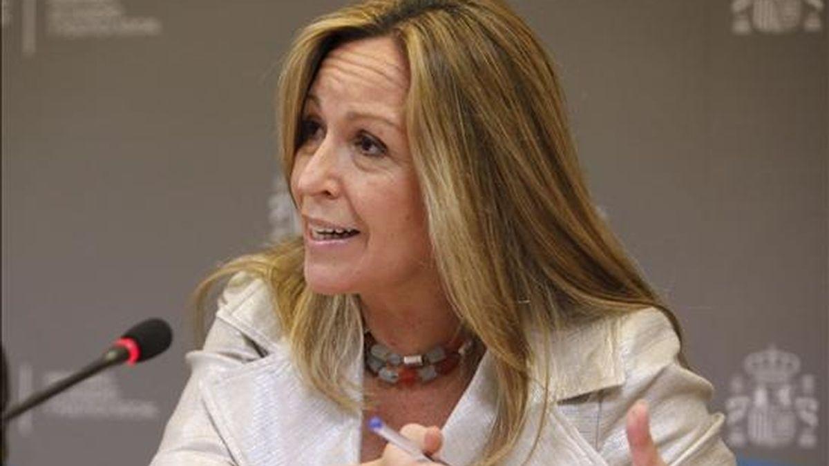 La ministra de Sanidad y Política Social, Trinidad Jiménez. EFE/Archivo