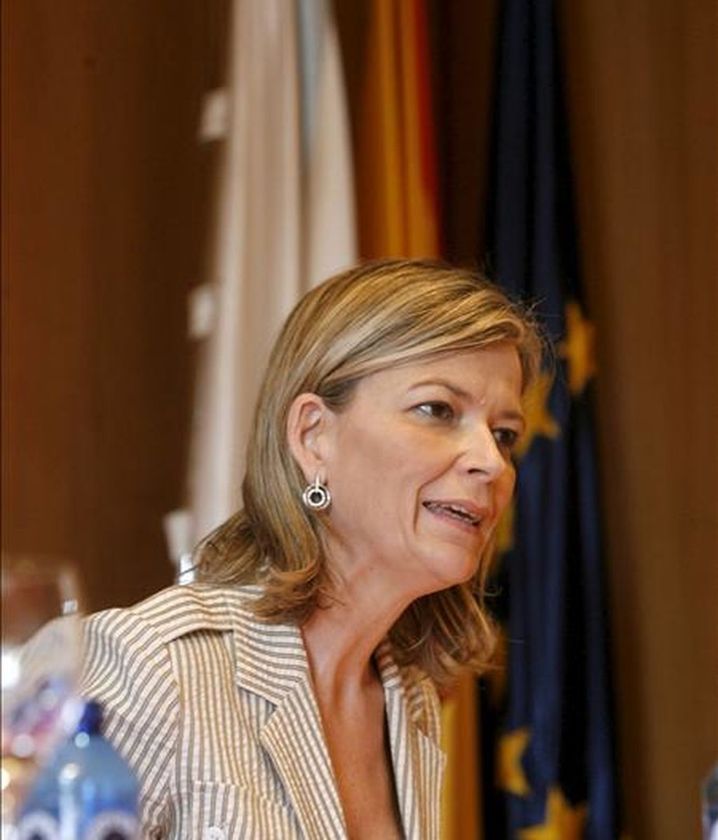 La vocal portavoz del Consejo General del Poder Judicial (CGPJ), Gabriela Bravo. EFE/Archivo