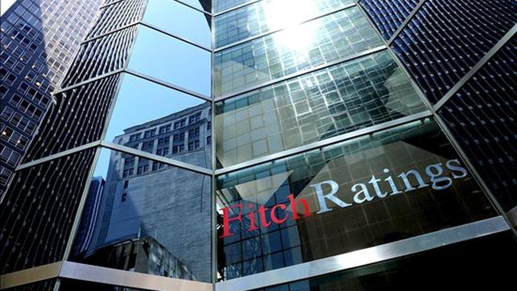 Iamgen de las oficinas de Fitch Ratings en Nueva York (Estados Unidos). EFE/Archivo