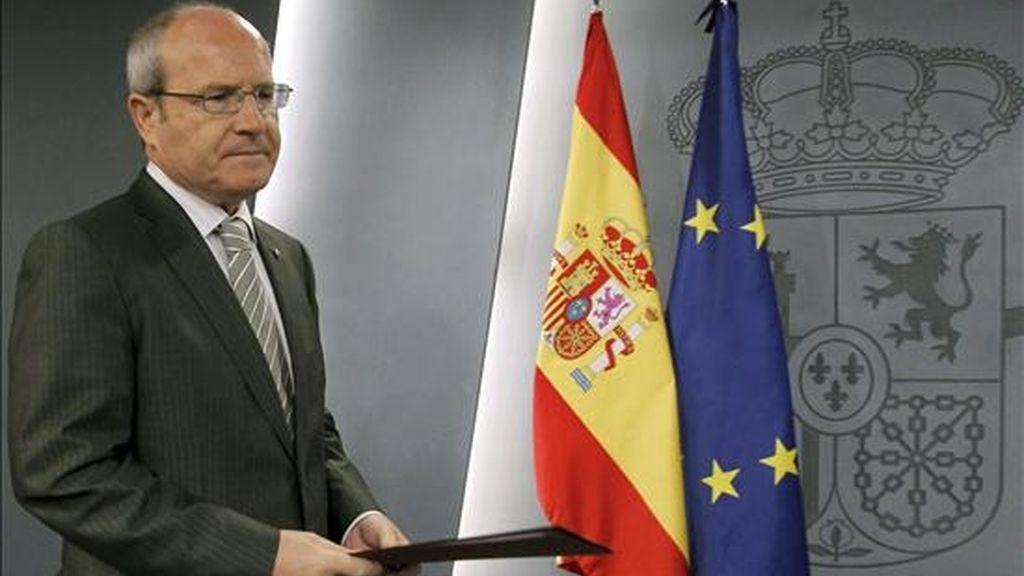 El presidente de la Generalitat, José Montilla. EFE
