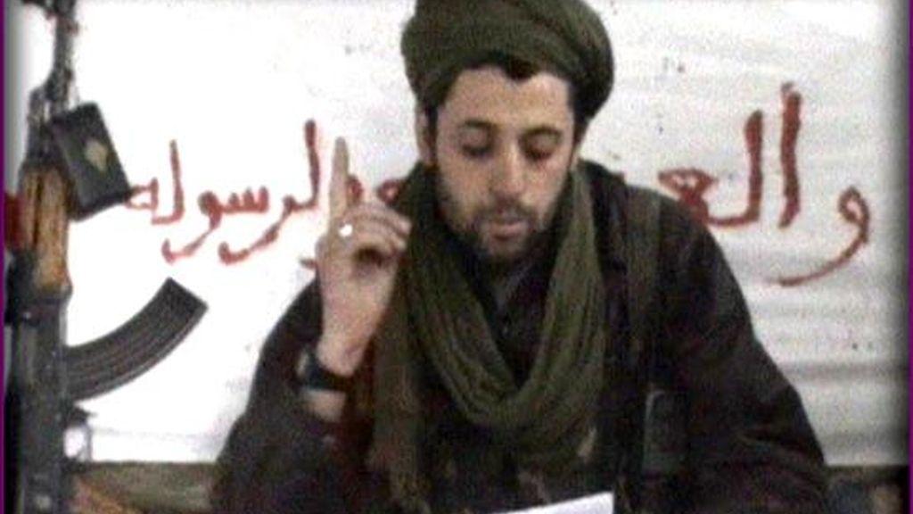 Imagen del comunicado que hizo público la organización terrorista Al Qaeda en al Magreb, para asumir la autoría del atentado suicida perpetrado en enero de 2008,  contra una comisaría de policía en Argelia. EFE/Archivo
