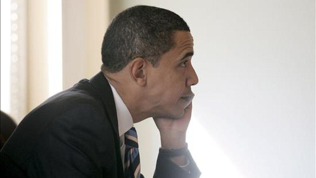 La ronda de llamadas a líderes extranjeros se completó con una conversación con el presidente israelí, a quien Barack Obama felicitó por el desarrollo de las elecciones en su país. EFE/Archivo