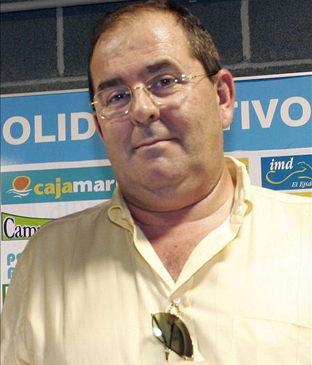 Jose Alemán, ex interventor municipal del ayuntameinto de El Ejido (Almería). EFE/Archivo