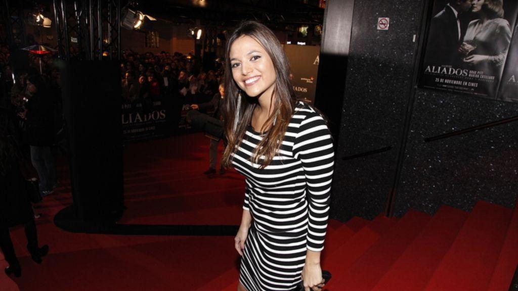 La actriz Elisa Mouliaá