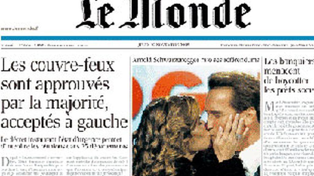 'Le Monde', de pago. Foto: Archivo.