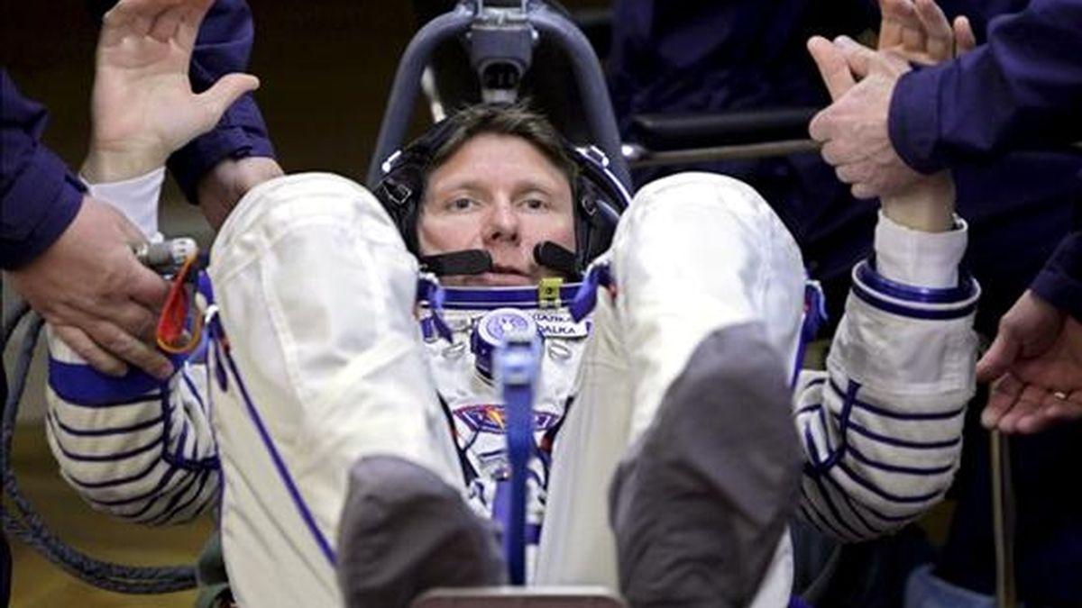 El cosmonauta ruso Guennadi Padalka. EFE/Archivo