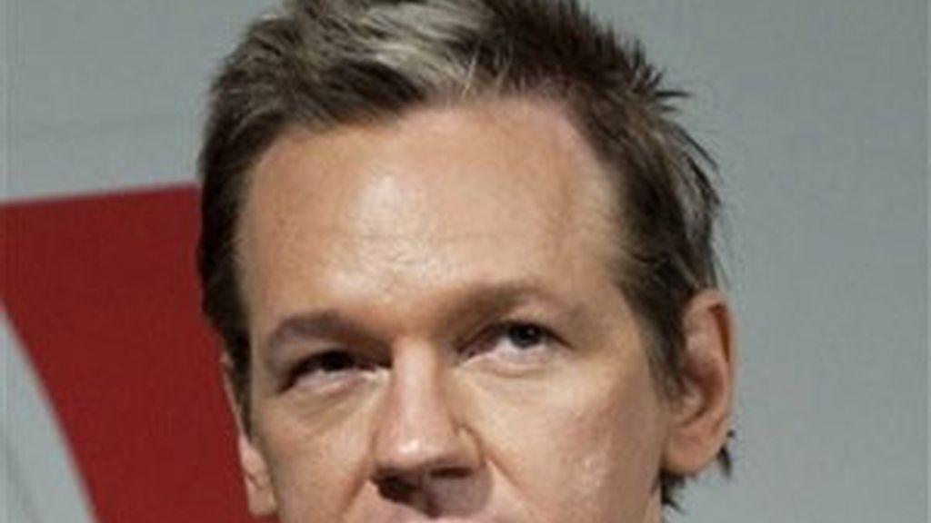 Imagen del fundador de WikiLeaks, Julian Assange. Foto: AP.