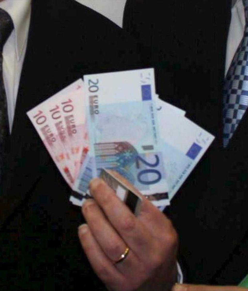 En la imagen, varios billetes de euros. EFE/Archivo