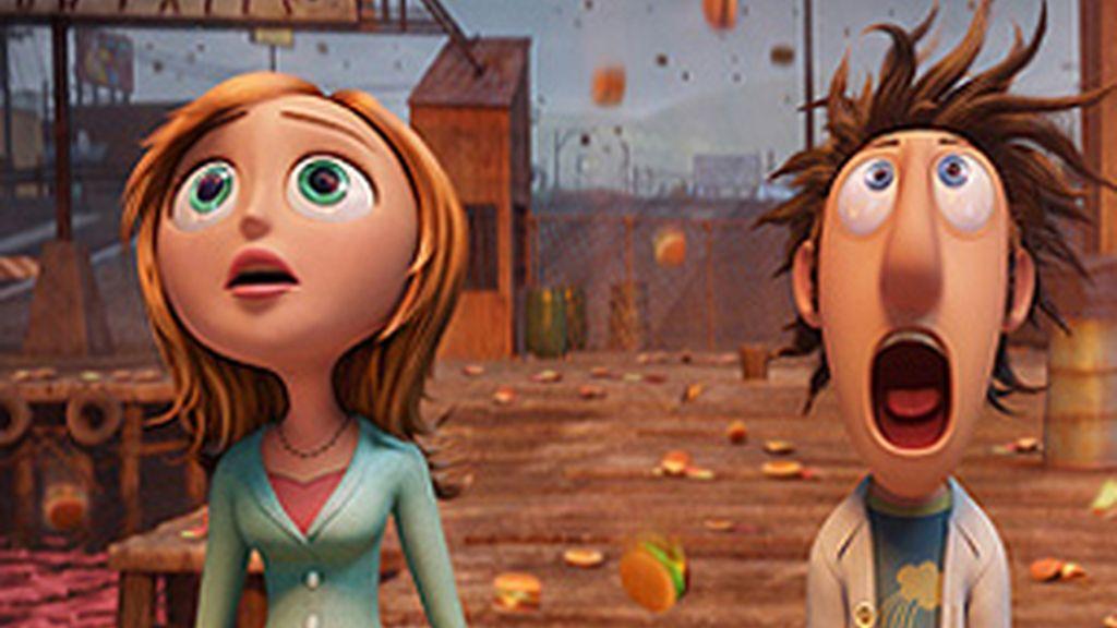 Imagen de 'Lluvia de albóndigas', la nueva película de animación de Sony.