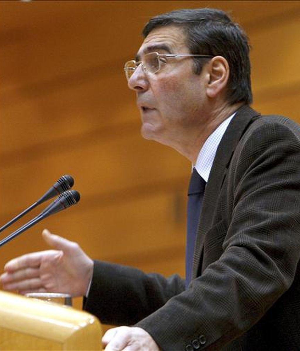 El portavoz de la Entesa en el Senado, Carles Bonet. EFE/Archivo