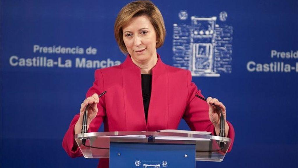 La vicepresidenta y consejera de Economía y Hacienda, María Luisa Araújo. EFE/Archivo
