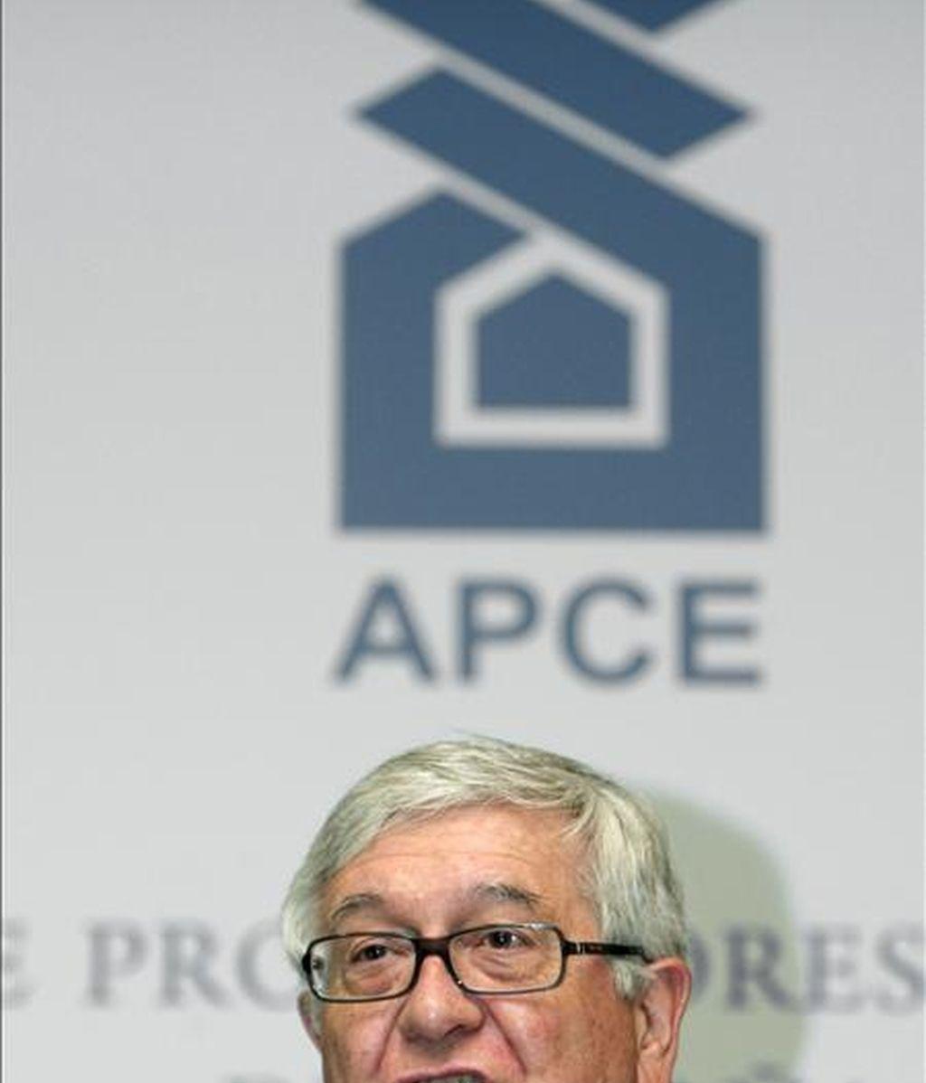 El presidente de la Asociación de Promotores Constructores de España (APCE), José Manuel Galindo. EFE/Archivo