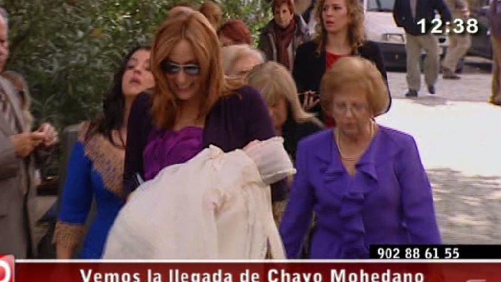 Chayo Mohedano bautiza a su hija Alejandra
