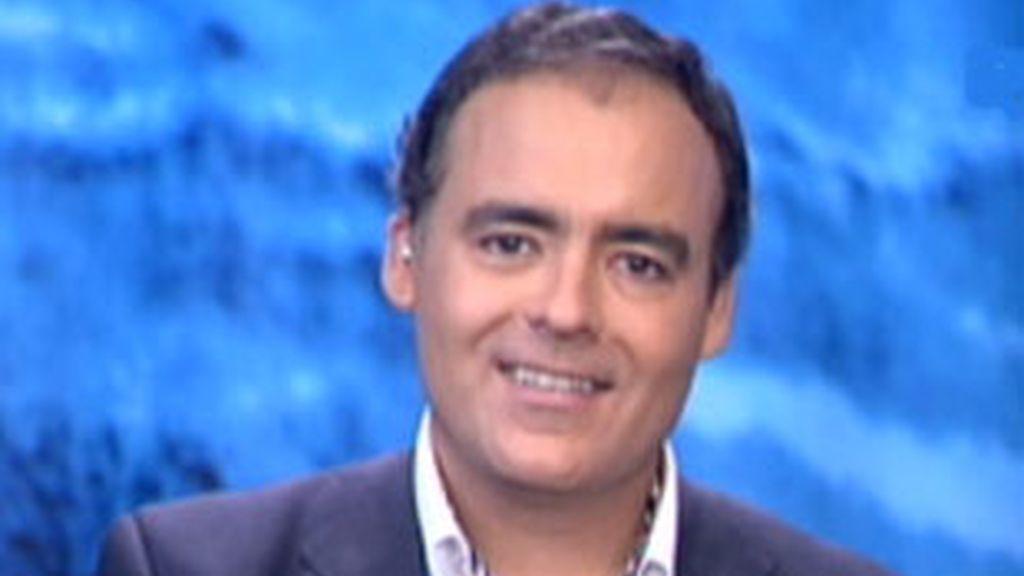 El director de Google en España, Javier Rodíguez Zapatero, durante su entrevista en La Mirada Crítica. Vídeo: Informativos Telecinco.