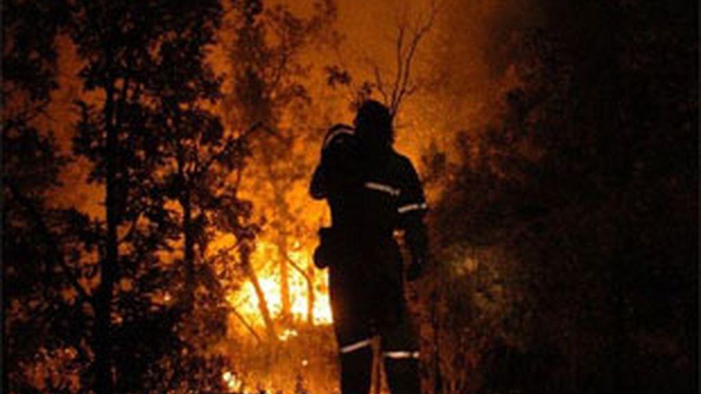 Imagen de archivo del incendio ocurrido en Guadaljara en 2005. Vídeo: Informativos Telecinco.